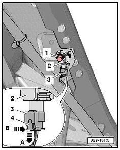 Audi Portal: Sensors Diagnostic . Audi A6 4F (2005- ). G257 Описание