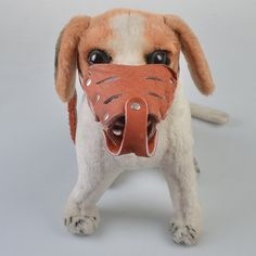 HMLifestyle-Adjustable Leather Dog Muzzle Dogs Barking For Biting And Barking Scary To Large,Brown) * Continue to the product at the image link. (This is an affiliate link and I receive a commission for the sales) Dog Muzzle, Scary Mask, 81, Dog Barking, Pet Accessories, Doggies, Image Link, Teddy Bear, Amazon