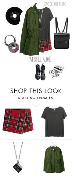 """Alive"" by solespejismo ❤ liked on Polyvore featuring Barbara Bui, R13, Dr. Martens, CASSETTE, The Cambridge Satchel Company, CHESTERFIELD, H.I.P., Pull&Bear, vintage and love"