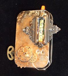 Altered Altoid Tin Steampunk