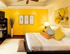 Esta primavera si vas a pintar tu cuarto escoge el color amarillo porque es un color que brinda calidez, y ayuda a que los cuartos pequeños se vean más grandes de lo que realmente son. Disfruten su día