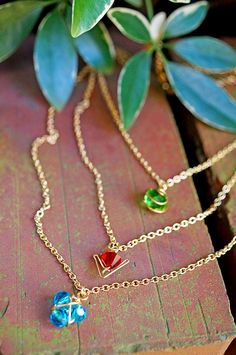 Legend of Zelda: Ocarina of Time Spiritual Stones necklaces