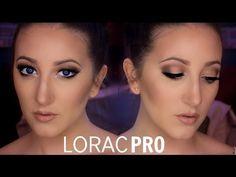 Lorac Pro Palette Tutorial | Light Bronze Smoky Eyes - YouTube