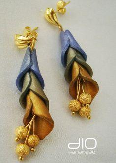 Cala Earrings by Irina Oana Diacenco
