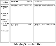 Common Core Lesson Plan Template  Common Core Math