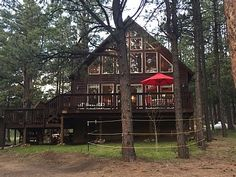VRBO.com #757484 - Mountain Chalet on 2 Acre Park Setting, by Elk Trail Greenbelt. 4 Min. to Skiing