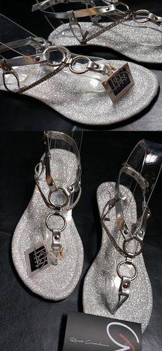 """Silver Sandals   Cute Sandals   Handmade Sandals   Beautiful Sandals   Dressy Sandals   Flat Sandals   Party Sandals   Sparkly Sandals   MODEL: """"Brilla Brilla"""" by RiveloCreaciones   Discover more, original designs at https://www.etsy.com/shop/RiveloCreaciones"""