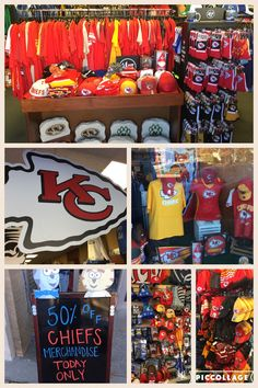 50% OFF REGULAR PRICE ON ALL CHIEFS MERCHANDISE TODAY ONLY FOR THE DOWNTOWN LIBERTY CONSTRUCTION SHOP MOB!  #brantsclothing