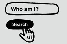 wat is mijn identiteit Identity, Illustration Art, Facts, Logos, School, Inspiration, Contrast, Label, Tattoo