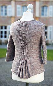 Ravelry: Hampton Court pattern by Christelle Nihoul