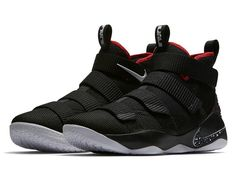 2f6640963b7e Nike Lebron Soldier Amazing Nike LeBron Soldier 11 Black And Red For Sale  Date Sneakers
