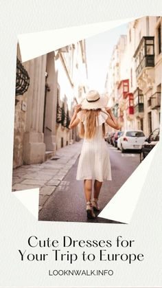 Packing Tips For Vacation, Travelling Tips, Travel Tips, Europe Bucket List, Group Travel, Panama Hat, Cute Dresses, Fashion Dresses, Lifestyle