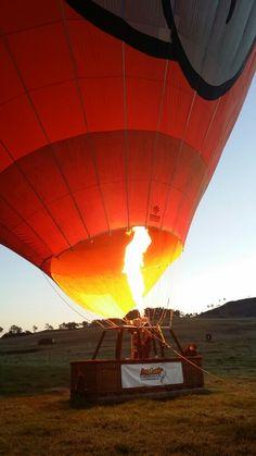 Hot Air Balloon Brisbane Australia