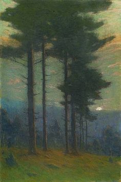 "Charles Warren Eaton, ""Twilight"" (c. 1900)"