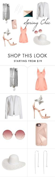"""Boho Betty // Spring Chic"" by bohobettyjewellery on Polyvore featuring Topshop, Giuseppe Zanotti, Linda Farrow, Rebecca Minkoff, Dorothy Perkins and Sole Society"