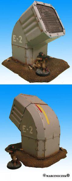 Ventilation System Terrain Models for guys. Warhammer Terrain, 40k Terrain, Game Terrain, Wargaming Terrain, Infinity The Game, Building Painting, Robot Concept Art, Minis, Ventilation System