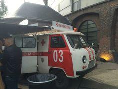Emergency coffee bus