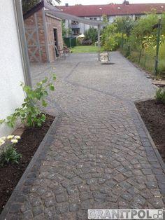 Verlegemuster Granitpflaster pflastersteine aus naturstein christian holm galabau hofzufahrt