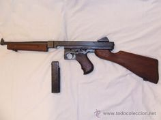 Thompson M1A1 ''Tommy'' el gangster, y mi arma favorita!