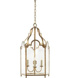 692 dollars and inches wide Visual Comfort E. Chapman French Market 3 Light Foyer Pendant in Gilded Iron with Wax Lantern Pendant Lighting, Foyer Lighting, Chandelier, Visual Comfort Lighting, Small Lanterns, Clear Glass, Bulb, Ceiling Lights, Kings Lane