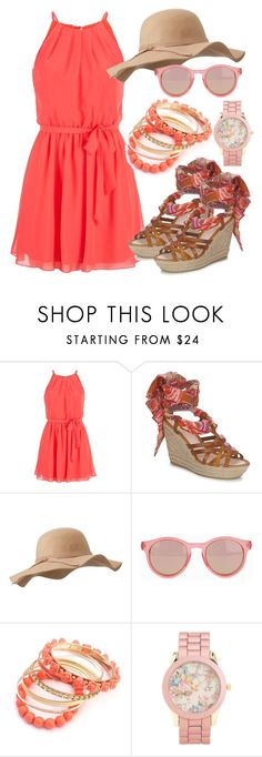 """#442"" by deedee-pekarik ❤ liked on Polyvore featuring maurices, Antik Batik, Le Specs, Aéropostale and espadrille"