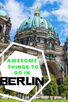 Here is a list of the absolute best things to do in Berlin. From the street art in the Berlin streets to discovering the unsettling history, don't miss Berlin. Make sure it is on your list of places to go in Germany. #germany #berlin #streetart #thingstod