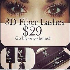 The Fiber Lashes is one of our top selling products and there's a reason for that! It provides full, in-your-face lashes that every woman wants! Throw away your old, boring mascara and give our Fiber Lashes a try! 3d Mascara, 3d Fiber Lashes, 3d Fiber Lash Mascara, Best Mascara, Mascara Younique, Applying Mascara, Eye Makeup, Beauty Makeup, Makeup Lipstick