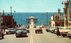 Manhattan Beach in the Olden days - looks like early 50's, Claire Koesterer