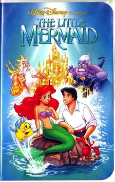 The Little Mermaid VHS (5/18/90)