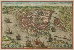 This day in 1453 - Mehmed II begins his siege of Constantinople (İstanbul), which would fall on May 29.