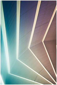 soft geometric architectural detail