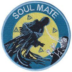 Soul Mate patch by la barbuda #soulmate #patch #patchgame #irononpatch #parche #parchebordado #labarbuda #labarbudashop