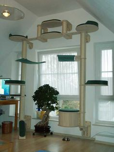 kratzbaum selber bauen so entsteht ein katzen paradies. Black Bedroom Furniture Sets. Home Design Ideas