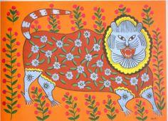 Tiger Laughs - Maria Pryimachenko, 1982