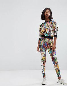 adidas Originals Dot X Pharrell Williams Hu Polka Dot Originals Leggings | SPORT 719e0a
