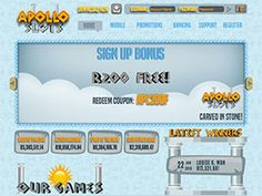 Apollo Slots No Deposit bonus codes for South African Rand players. Find out how you can get Free No Deposit Bonus.