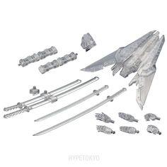 M.S.G Modeling Support Goods Kotobukiya Plastic model : Weapon Unit Assortment 02 Sharp Set Clear Ver.