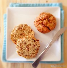 A quick and easy gluten, dairy, nut and refined sugar free version of Date Scones. Perfect as snacks and meals on the go. Enjoy.