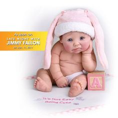 Sherry Rawn It's Not Easy Being Cute Resin Doll: Miniature Baby Doll by Ashton Drake « Game Searches