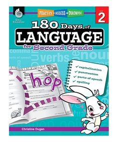 Take a look at this Grade 2 180 Days of Language Workbook today!
