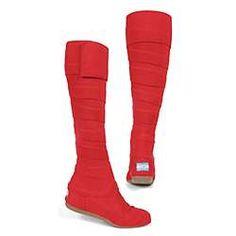 TOMS SHOES Wrap Boot Summer Boots, Suits You, Kids Meals, Toms, Unique, Beauty, Red, Fashion, Moda