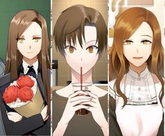 Jaehee's transformation...always gets me Such a different person everything single time | Mystic messenger