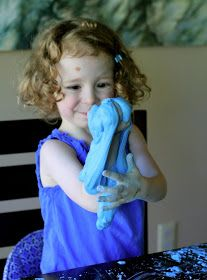 FUN AT HOME WITH KIDS: Borax-Free Slime Dough