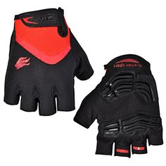 FIRELION Cycling Gloves Mountain Bike Gloves Road MTB Bicycle Gloves Gel Pad Riding Gloves Half Finger Biking Gloves - http://mountain-bike-review.net/products-recommended-accessories/firelion-cycling-gloves-mountain-bike-gloves-road-mtb-bicycle-gloves-gel-pad-riding-gloves-half-finger-biking-gloves/ #mountainbike #mountain biking