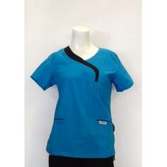 410T  Ladies Sculpted 2 Pocket Top Visit us online at www.accuwear.com Or call 1-(780)-489-3838
