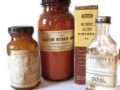 Vintage Dental Bottle Collection  Medical by Prairiegirltreasure, $50.00