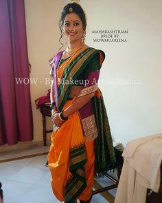 Maharashtrian Saree, Marathi Saree, Marathi Bride, Kashta Saree, Saree Blouse, Fancy Sarees Party Wear, Nauvari Saree, Wedding Saree Collection, Saree Look