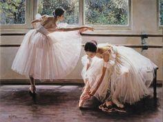 Image via We Heart It #ballerina #ballet #colorful #dance #dancer #girl #pointe #cute