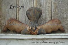 Joy Angel Pattern by Walnut Ridge Primitives by wrprimitives, $12.00
