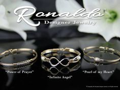 Meaningful and striking, the POWER OF PRAYER, INFINITE ANGEL, and PEARL OF MY HEART bracelets are all among the most popular and best selling Ronaldo bracelets, for obvious reasons.  We are incredibly proud of them all, but which one is your favorite?